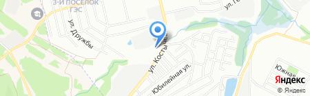 Сеть магазинов стройматериалов на карте Иркутска
