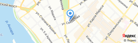 Банкомат Росгосстрах Банк на карте Иркутска