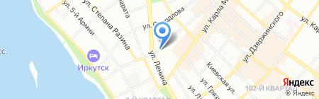 Спутник системс на карте Иркутска