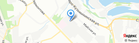 Transfer Baikal на карте Иркутска