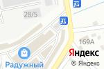 Схема проезда до компании Еврокрепеж в Иркутске