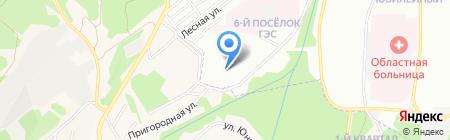 Иркутский детский дом-интернат №1 для умственно отсталых детей на карте Иркутска