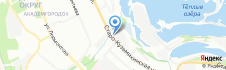 Банкомат БАНК УРАЛСИБ на карте Иркутска