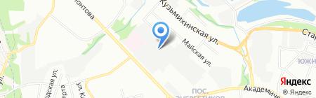 Байкальские фасады на карте Иркутска