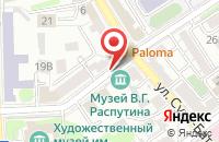 Схема проезда до компании Восточный Экспресс Плюс в Иркутске