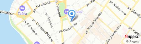 Департамент инженерных коммуникаций и жилищного фонда на карте Иркутска