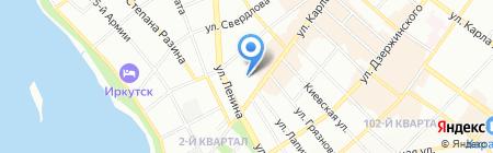 Центр профессионального образования на карте Иркутска