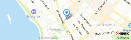 Иркутское оценочное бюро на карте Иркутска
