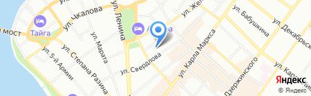 Средняя общеобразовательная школа №11 с углубленным изучением отдельных предметов на карте Иркутска