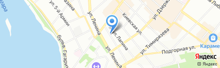 УФМС на карте Иркутска