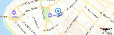 Детский сад № 41 на карте Иркутска