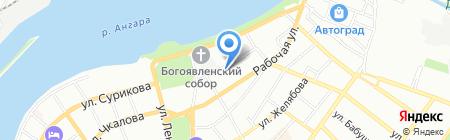 Dog studio на карте Иркутска