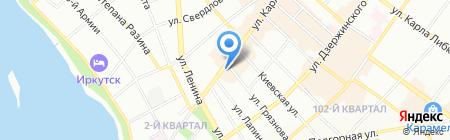 Студия Детали на карте Иркутска