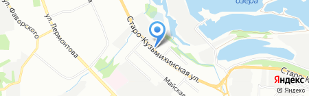 Профиль на карте Иркутска