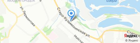 Градус° на карте Иркутска