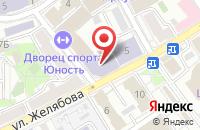 Схема проезда до компании Югзар в Кисловодске