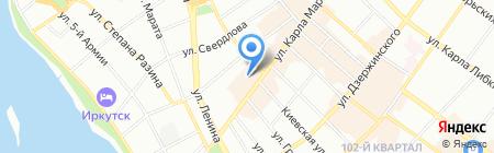 ЖЕЛДОРМЕДИЦИНА на карте Иркутска
