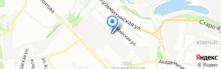 Риэлт-Сервис Империал на карте Иркутска