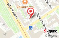 Схема проезда до компании Содействие в Иркутске