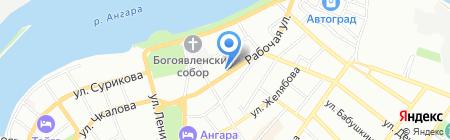 Артэкс на карте Иркутска