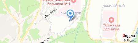 Детский сад №162 на карте Иркутска
