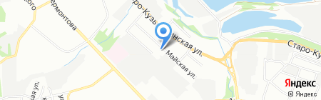 СЭТ-Иркутск на карте Иркутска