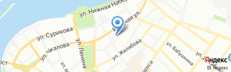 Фирма Универсал-Сервис на карте Иркутска