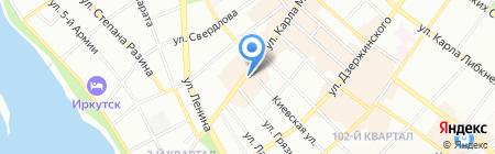 Арбитр АНО на карте Иркутска