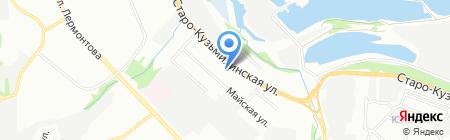 Автоцентр Байкал на карте Иркутска