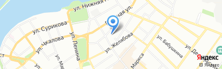 Центр помощи детям на карте Иркутска