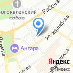 Участковый пункт полиции №4 на карте Иркутска