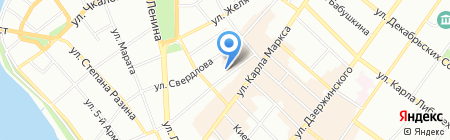 Аварийно-диспетчерская служба на карте Иркутска