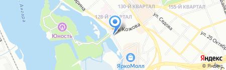 Sportshop fitness & tennis на карте Иркутска