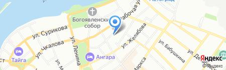 Авокадо на карте Иркутска