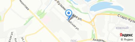 Сибирь-Антикор на карте Иркутска