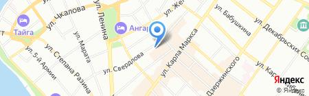 НАЛОГИНОВА.РУ на карте Иркутска