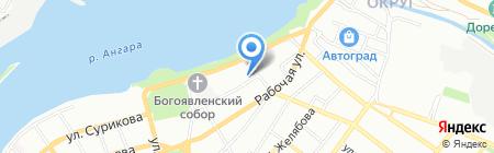 ВСГАО на карте Иркутска