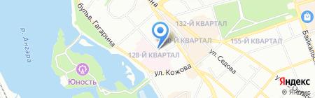 Иркутский базовый медицинский колледж на карте Иркутска
