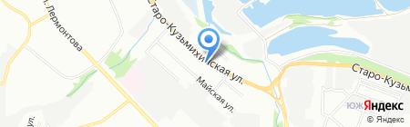 Wings на карте Иркутска