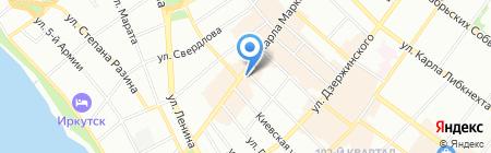 Иркутский областной музыкальный колледж им. Ф. Шопена на карте Иркутска