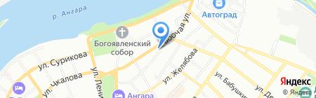 ВСМК на карте Иркутска