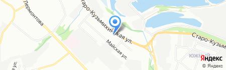 Райский остров на карте Иркутска
