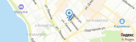 Стандарт на карте Иркутска