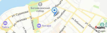 Музей истории г. Иркутска им. А.М. Сибирякова на карте Иркутска