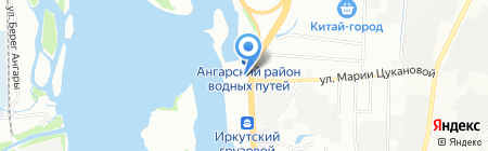 Мастер шаоблин на карте Иркутска