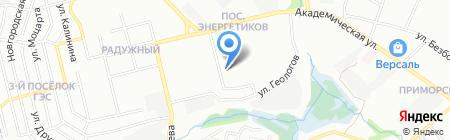 Средняя общеобразовательная школа №75 на карте Иркутска