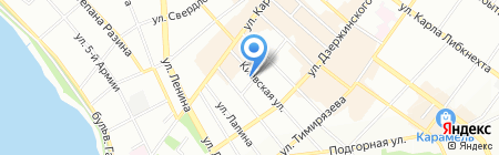 Детский сад №20 на карте Иркутска