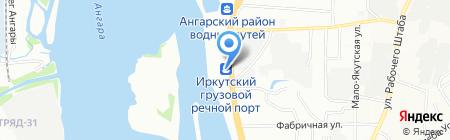 Мир Спецтехники на карте Иркутска