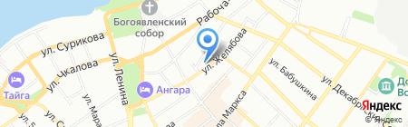 Иркутская областная детская школа искусств на карте Иркутска