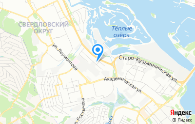 Местоположение на карте пункта техосмотра по адресу г Иркутск, ул Майская, стр 25
